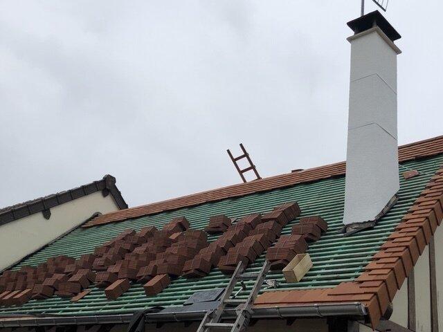 Réparation toit Caen